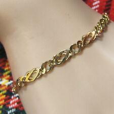 9 ct gold new scottish celtic bracelet