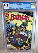 Batman #490 NEWSSTAND Riddler Bane - D.C. Comics 1993 CGC 9.6 NM+ WP Comic I0075