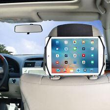 WANPOOL Car Headrest Mount Holder + Angle Adjuster for 7 - 10.5 Inch Tablets
