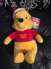 Winnie The Pooh Christmas Plush Teddy Bear New 40cm