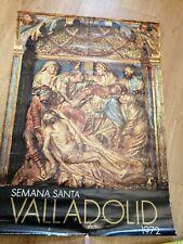 Postal Original Semana Santa Valladolid 1972