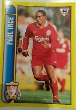 CAMPIONATO di CALCIO MERLIN 98 Sticker COLLEZIONE #334 PAUL INCE-Liverpool FC