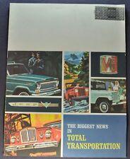 1965 Jeep Mailer Brochure CJ-5 CJ-6 4x4 Wagoneer Gladiator Pickup Panel Delivery