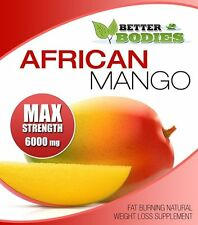 AFRICAN MANGO MAX 6000mg STRONG STRENGTH WEIGHT LOSS DIET 90