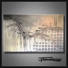 ABSTRACT PAINTING CANVAS WALL ART Large Original/Reproduction Signed ELOISExxx