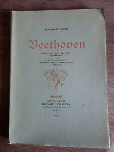 Beethoven Décoré De Douze Gravures De Perrichon Par Romain Rolland