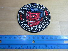Patch Rockabilly Bandung Devils Face Swing Hot Rod Nose Art 40's 50's V8 US Car