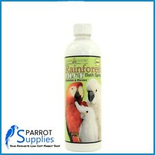 Rainforest Mist for Cockatoos & Macaws 17oz Parrot Bathing Spray - No Spray Top