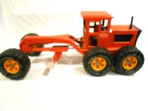 Tonka Road Grader Red/Orange MR-970