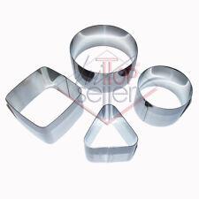 Chef Coppapasta 4pz varie forme Silver - Tescoma