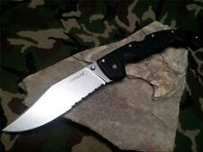 Cold Steel XL Voyager Folding Knife 50/50 Serrated Rescue Reversible 29TXCH