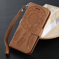 Magnetic Leather Flip Wallet Card Stand Case Cover For iPhone X 5 SE 6s 7 8 Plus