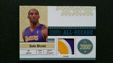 KOBE BRYANT 09-10 PLAYOFF NATIONAL TREASURES ALL DECADE PATCH JERSEY PRIME#24/25