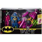 DC Batman Missions Batman VS The Joker 80th Anniversary 2 Pack Action Figures