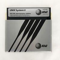 Original 1984 UNIX System V Administration Utilities Disk AT&T 3B2/XM Computer