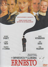 DVD - La Importancia De Llamarse Ernesto NEW Being Earnest FAST SHIPPING !