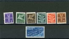 Italy 1930 Scott# C12-C18 mint hinged