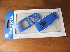 Original Nokia 3510 i 3510i Front Back Cover GameDesign Schale Tastatur SKYBLAU