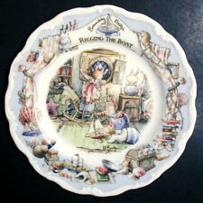 Royal Doulton Brambly Hedge Sea Story 'Rigging The Boat' Plate