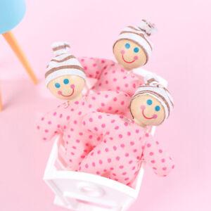 Doll House Furniture Baby Accessories Mini Cotton Doll Simulation Cute Doll .bu