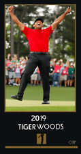 NEW TIGER WOODS 2019 OTP MASTERS WIN CARD FROM OTP