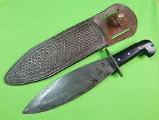 US WW2 WWII CASE OSS Smatchet Fighting Knife w/ Sheath