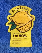 Tonymoly I'm Real Lemon Face Mask Sheet - MELB SELLER
