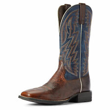 Ariat 10031437 Men's Brown Patina Leather Wide Square Toe Dynamic Western Boots