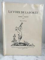 La Voz de La Bosque James Jaquet Dibujos de Guiton Jaquet-Loew 1931