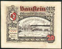 Osterwick im Harz 20 Mark 1. Mai 1922 Mehl 1037.6, Zust. I/II - RARE