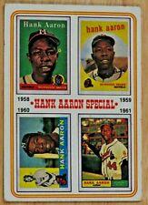 "1974 TOPPS SET, #3 ""Hank Aaron Special"", Atlanta Braves"