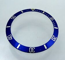 Rolex Submariner 18k Gold 16613 16618 Watch Bezel Insert Cal 3035