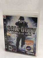 Call Of Duty: World at War - PS3 Playstation 3 - Free Shipping