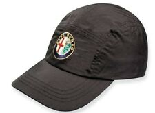 CAP Alfa Romeo Waterproof Sportscar Embroidered Logo Badge Golf NEW! Black