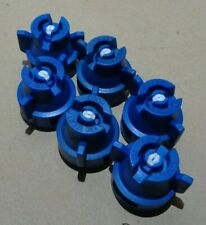 More details for teejet blue nozzle and cap assembly pack of 6