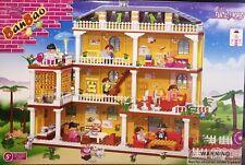BanBao 8370 Large Family House Building Block Set 900pcs
