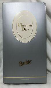 Mattel 1995 BARBIE Collector Doll NRFB-CHRISTIAN DIOR Barbie-Limited Edition