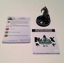 Heroclix LotR: Fellowship of the Ring set Elrond #014 Uncommon figure w/card!
