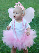 Pink Fairy Princess Pack! Tutu,Wings,Crown,Wand