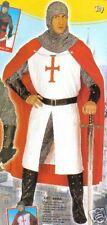 COSTUME DEGUISEMENT Médiévale CHEVALIER XL GUERRIER CROIX ROUGE 3242