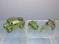 DINKY TOY'S MODELS No.697 25-POUNDER FIELD GUN SET