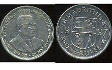 ILE MAURICE   1 rupee 1997  ( bis )