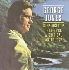 GEORGE JONES Step Right Up 1970-1979: A Critical Anthology CD BRAND NEW Raven