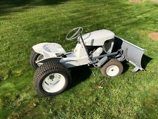 Porter Cable Lawn Tractor with Plow, Snowblower, and Mower Deck - Connecticut