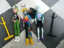 Monster High gillington, Deuce Gordon y Neighthan BOY muñecas
