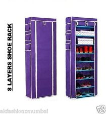 8 LAYERS LARGE SHOE RACK METAL GRID SHELFS HIGH QUAILITY