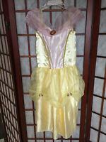 Disney Beauty & The Beast Belle Costume girls size 4-6x