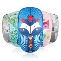 V8 2.4G Mini Game Wireless Mouse Mice 250Hz 3 Keys 3D 1600DPI for WinXP/7/8/10
