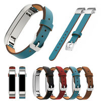 Stylish Band for Fitbit Alta HR Genuine Leather Strap Cowhide Wristband Bracelet