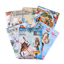 NEW Note Card Alice in Wonderland Tea Party-Vintage Blank Cards-Drink Me-Eat Me